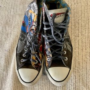 converse Shoes - CONVERSE...SUPERMAN..high tops